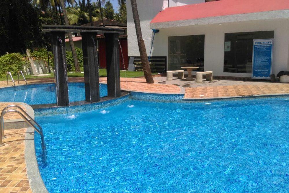 goa beach holidays goa bhk living room   Dream Aqua 1 BHK » Go Goa Holiday Homes